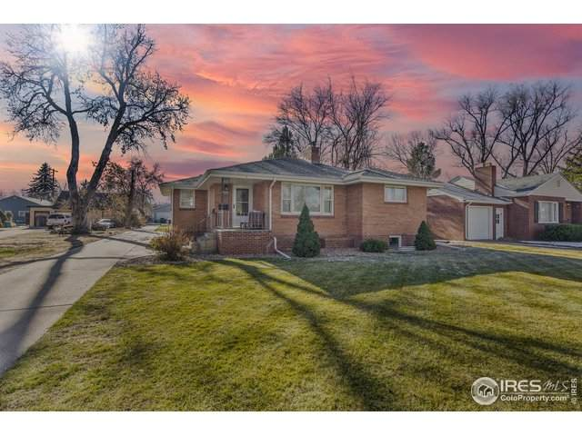 1908 12th St, Greeley, CO 80631 (MLS #929380) :: The Sam Biller Home Team
