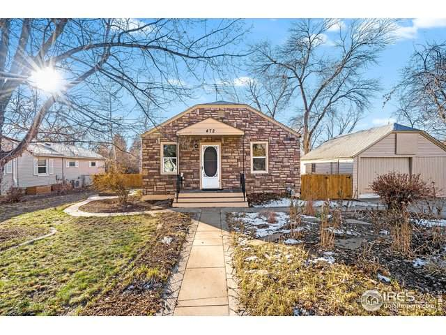 472 W 2nd St, Loveland, CO 80537 (MLS #929620) :: Fathom Realty