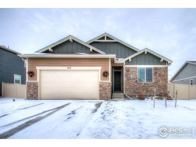 610 Cimarron Trl, Ault, CO 80610 (MLS #930206) :: Wheelhouse Realty