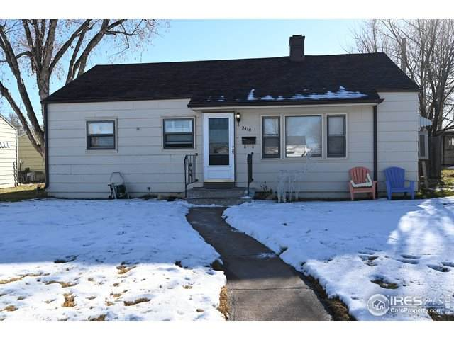 2410 W 7th St, Greeley, CO 80634 (MLS #930674) :: Tracy's Team