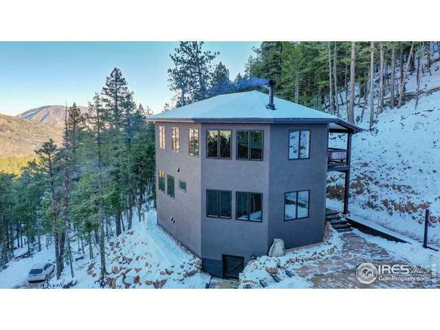 80 Lookout Dr, Lyons, CO 80540 (MLS #931067) :: Hub Real Estate