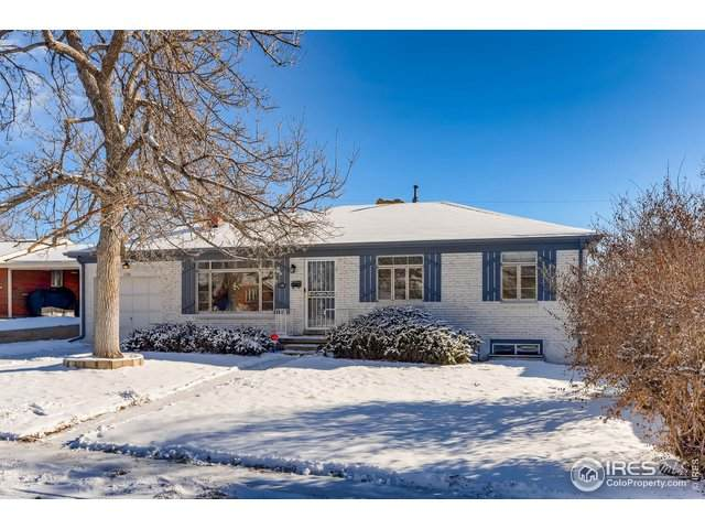 1120 S Fenton St, Lakewood, CO 80232 (MLS #932258) :: J2 Real Estate Group at Remax Alliance