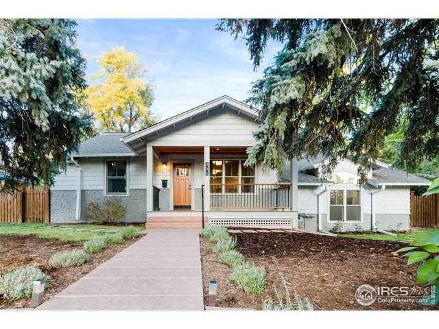 941 8th St, Boulder, CO 80302 (MLS #932482) :: Downtown Real Estate Partners