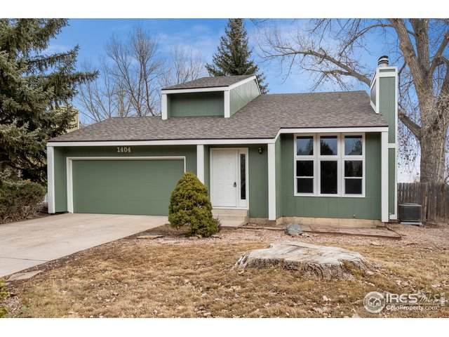 1404 Gloria Ct, Loveland, CO 80537 (MLS #932787) :: J2 Real Estate Group at Remax Alliance