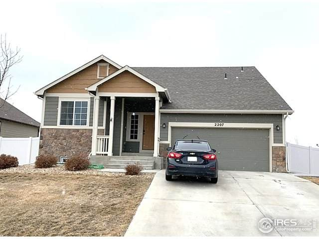 2207 76th Ave Ct, Greeley, CO 80634 (MLS #933225) :: Downtown Real Estate Partners