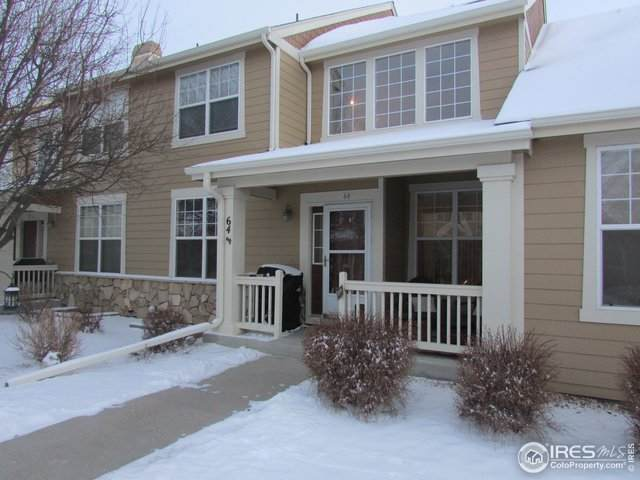 6608 W 3rd St #64, Greeley, CO 80634 (MLS #933544) :: 8z Real Estate