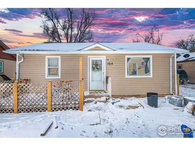 1614 5th St, Greeley, CO 80631 (MLS #933581) :: Tracy's Team