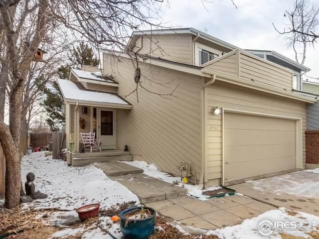 4966 Sundance Sq, Boulder, CO 80301 (MLS #933587) :: Downtown Real Estate Partners