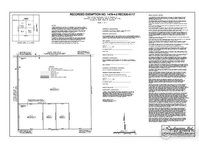 0 (Lot C) County Road 77, Roggen, CO 80652 (MLS #933678) :: 8z Real Estate