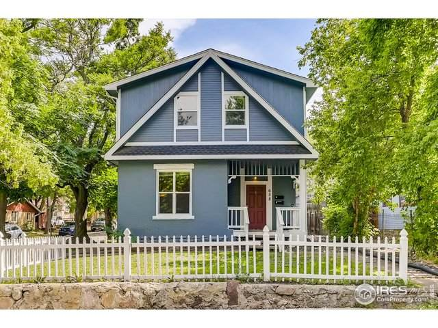 658 Marine St, Boulder, CO 80302 (MLS #934020) :: Jenn Porter Group