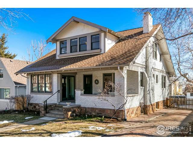 916 12th St, Boulder, CO 80302 (MLS #934110) :: Kittle Real Estate