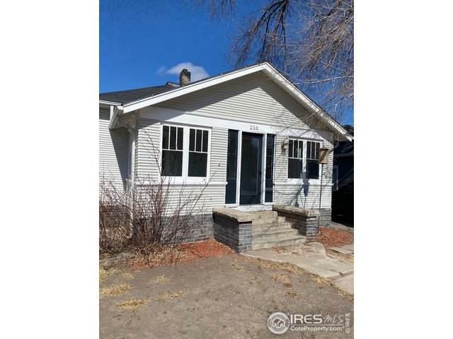 210 Lincoln St, Sterling, CO 80751 (MLS #934184) :: 8z Real Estate