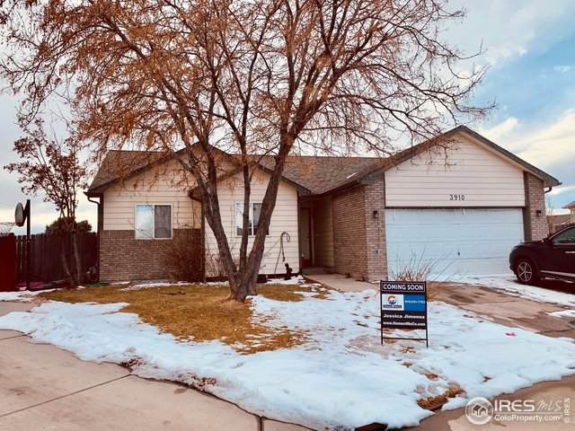3910 Gold Rush Ct, Evans, CO 80620 (MLS #934280) :: Fathom Realty