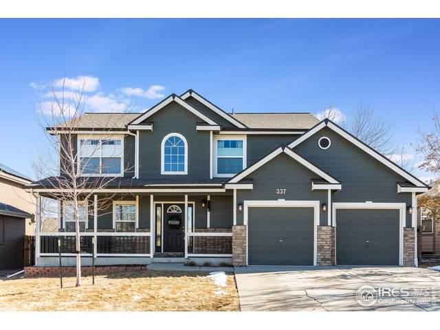 337 River Rock Dr, Johnstown, CO 80534 (MLS #934491) :: 8z Real Estate