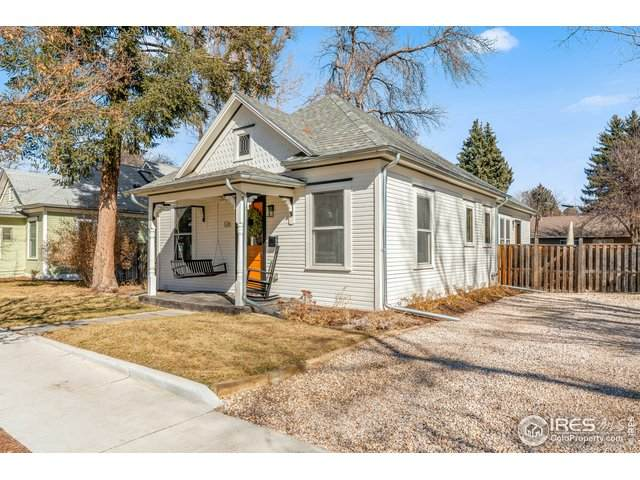 126 N Mack St, Fort Collins, CO 80521 (#934671) :: The Griffith Home Team