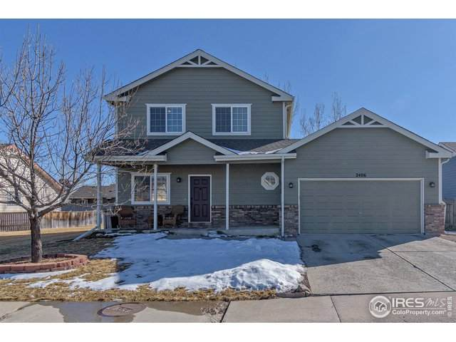 2406 W 45th St, Loveland, CO 80538 (MLS #934674) :: Downtown Real Estate Partners