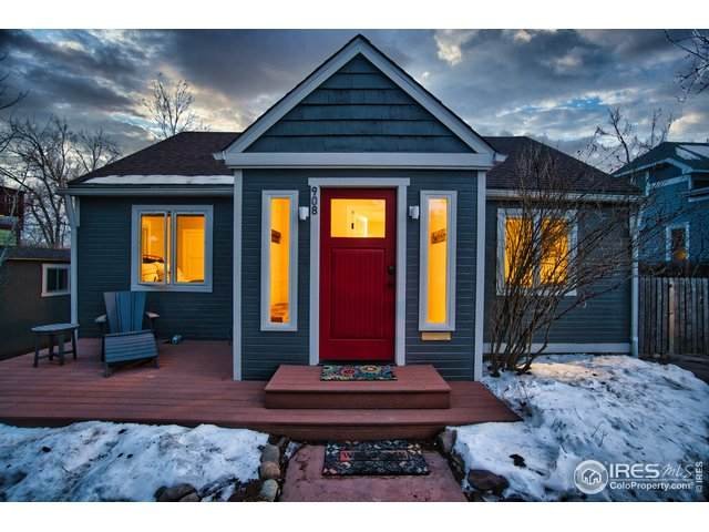 908 Hawthorn Ave, Boulder, CO 80304 (#934705) :: The Griffith Home Team