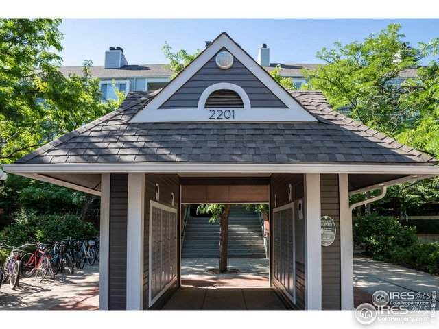 2201 Pearl St #114, Boulder, CO 80302 (MLS #934748) :: Jenn Porter Group