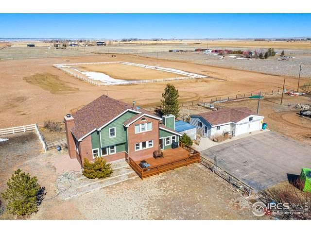 820 W County Road 74, Wellington, CO 80549 (MLS #934776) :: The Sam Biller Home Team