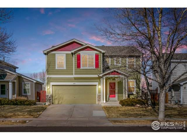 4047 Georgetown Dr, Loveland, CO 80538 (MLS #934796) :: Downtown Real Estate Partners