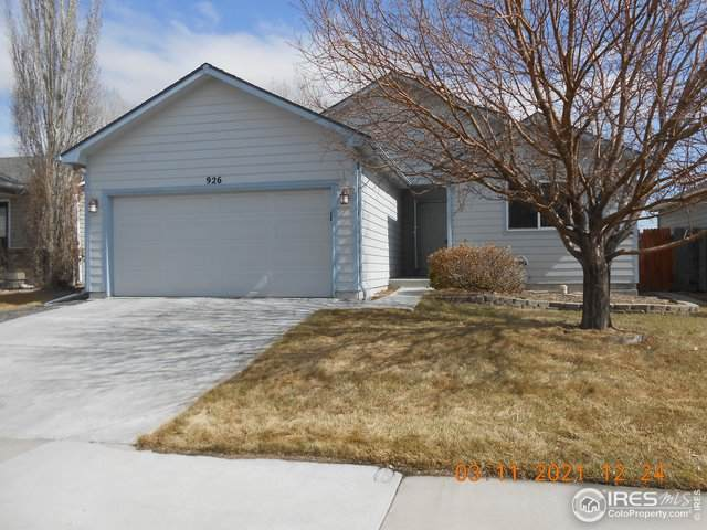 926 Thornhill Pl, Fort Collins, CO 80524 (MLS #935226) :: Wheelhouse Realty
