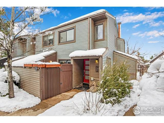 350 Arapahoe Ave #24, Boulder, CO 80302 (MLS #935577) :: Jenn Porter Group