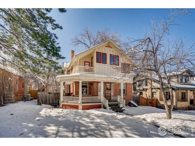 1027 10th St, Boulder, CO 80302 (#935725) :: The Griffith Home Team