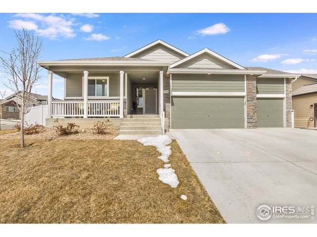646 Mt Princeton Dr, Severance, CO 80550 (#936465) :: The Griffith Home Team