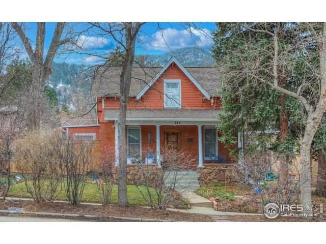 743 9th St, Boulder, CO 80302 (#936596) :: Re/Max Structure
