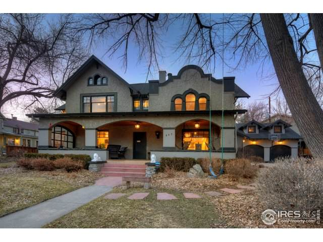 943 Spruce St, Boulder, CO 80302 (#936614) :: The Griffith Home Team