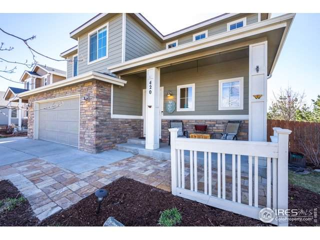 420 Castle Pines Ave, Johnstown, CO 80534 (#937512) :: iHomes Colorado