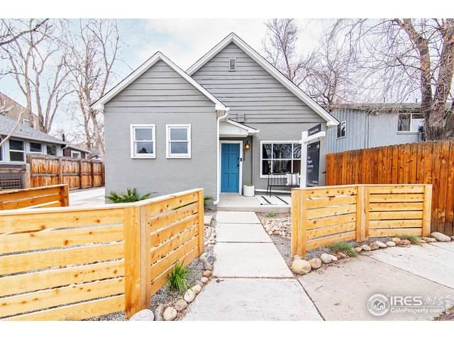 2429 Spruce St #1, Boulder, CO 80302 (MLS #937594) :: J2 Real Estate Group at Remax Alliance