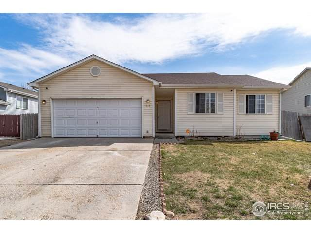 818 E 20th St Ln, Greeley, CO 80631 (MLS #937786) :: J2 Real Estate Group at Remax Alliance