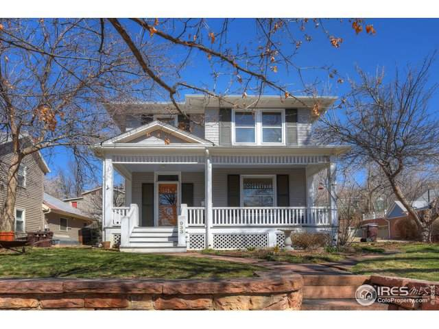 933 Pine St, Boulder, CO 80302 (MLS #937902) :: RE/MAX Alliance