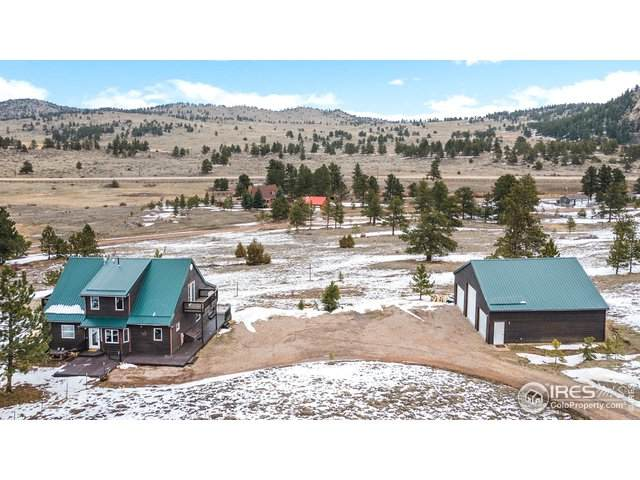 636 Cucharas Mountain Dr, Livermore, CO 80536 (MLS #938654) :: Kittle Real Estate