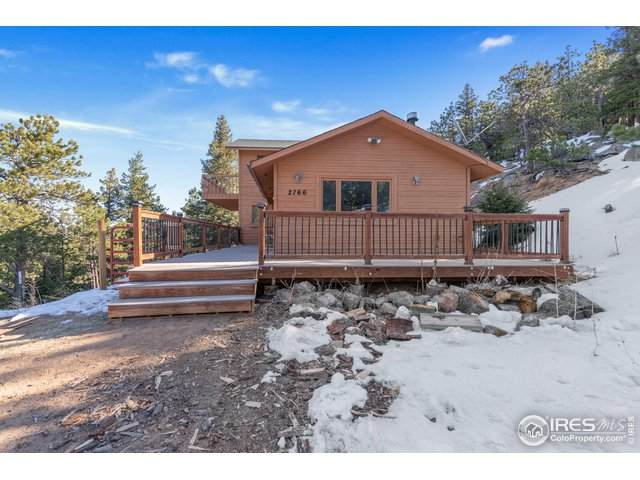 2766 Magnolia Dr, Nederland, CO 80466 (MLS #938996) :: Jenn Porter Group