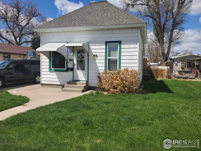 905 Meeker St, Fort Morgan, CO 80701 (MLS #940030) :: Kittle Real Estate