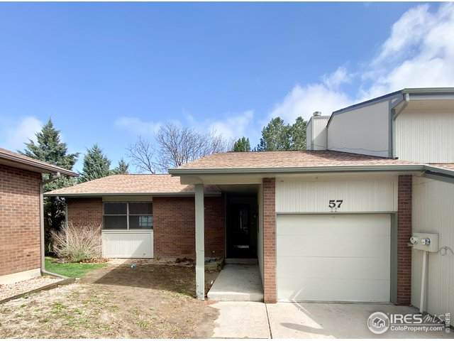 3405 W 16th St #57, Greeley, CO 80634 (MLS #940120) :: Keller Williams Realty
