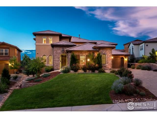 9697 Vista Hill Trl, Lone Tree, CO 80124 (#940178) :: Mile High Luxury Real Estate