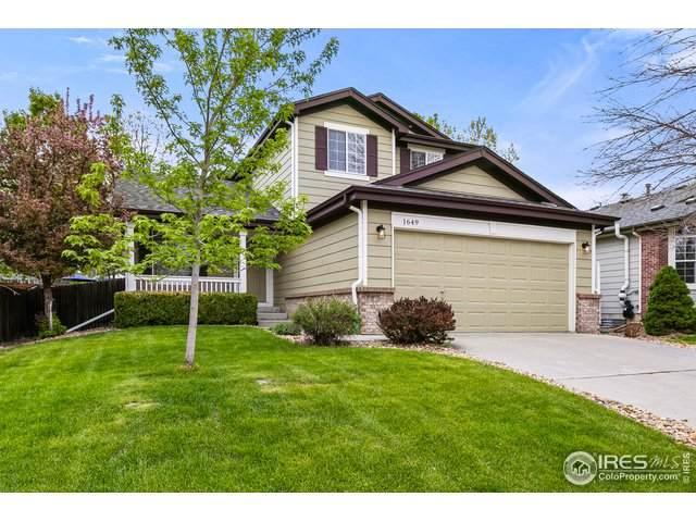 1649 Walker St, Erie, CO 80516 (MLS #940724) :: Find Colorado