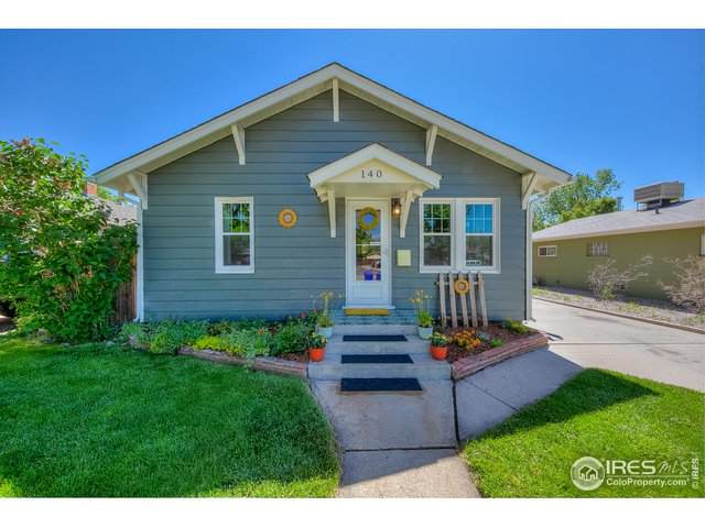 140 S Jefferson Ave, Loveland, CO 80537 (#942113) :: The Griffith Home Team