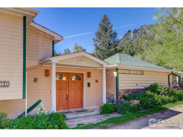 151 Artesian Dr, Eldorado Springs, CO 80025 (#942226) :: The Griffith Home Team