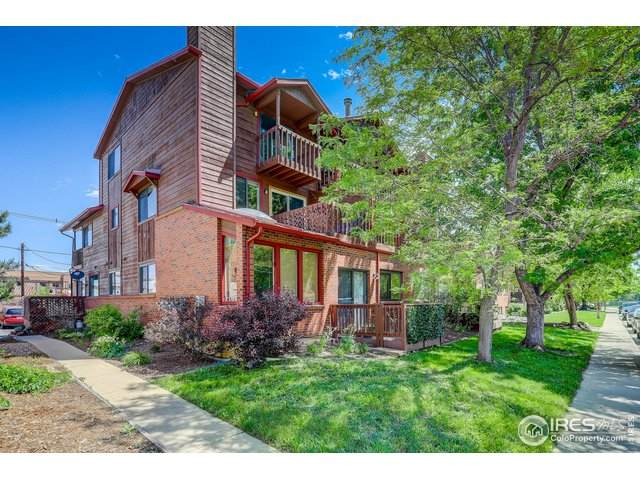 2855 Marine St #8, Boulder, CO 80303 (#942421) :: The Griffith Home Team