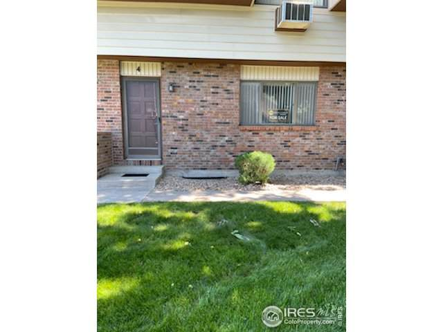 2707 19th St Dr #4, Greeley, CO 80634 (#942532) :: Compass Colorado Realty