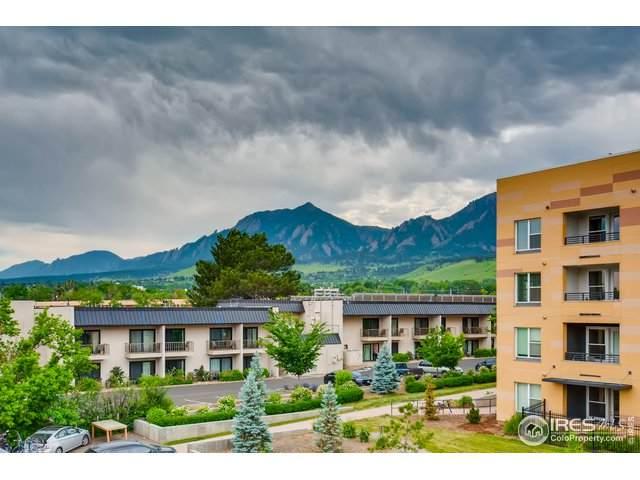 805 29th St #412, Boulder, CO 80303 (MLS #942889) :: The Sam Biller Home Team