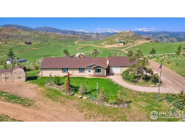 572 Horse Mountain Dr, Livermore, CO 80536 (MLS #942971) :: Find Colorado