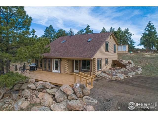 1305 Green Mountain Dr, Livermore, CO 80536 (MLS #943047) :: The Sam Biller Home Team