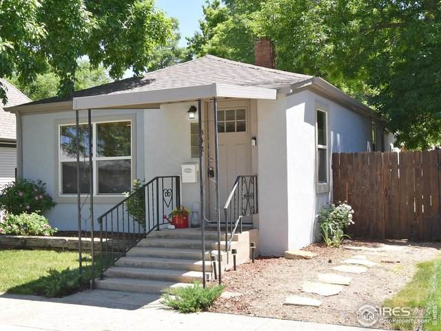 542 Roosevelt Ave, Loveland, CO 80537 (#943118) :: The Griffith Home Team