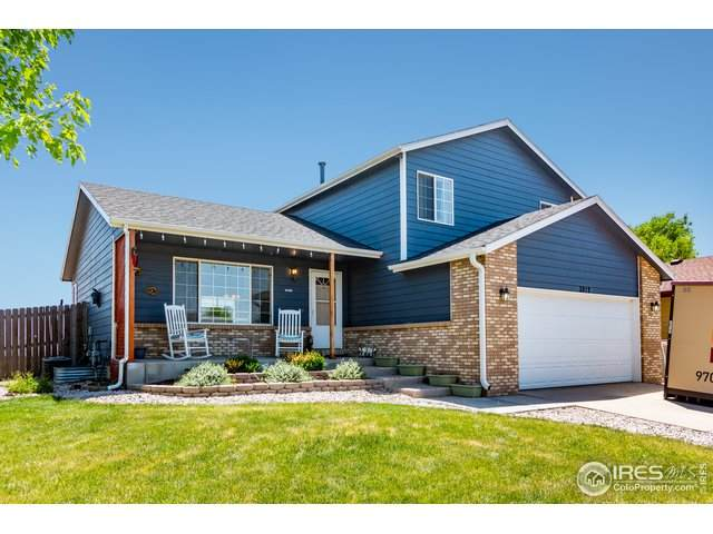 3812 Tumbleweed Dr, Evans, CO 80620 (#943127) :: The Griffith Home Team
