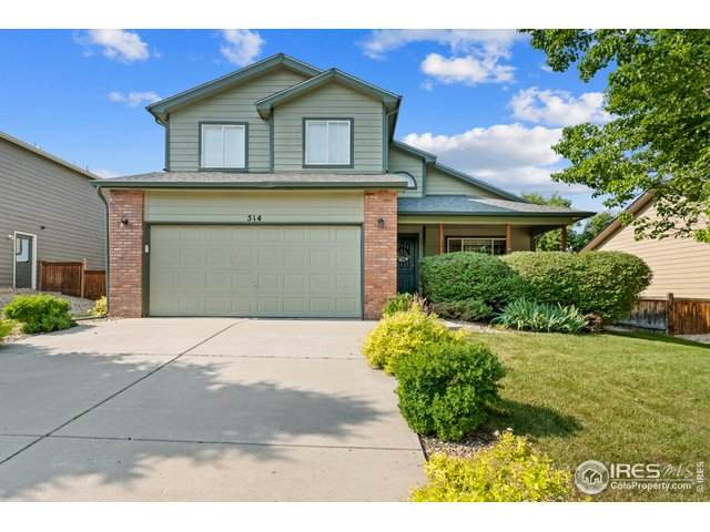 514 Dunraven Dr, Fort Collins, CO 80525 (MLS #943346) :: Wheelhouse Realty
